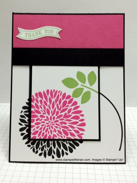 Betsy's Blossoms, Itty Bitty Banners, Stampin' Up!, Brian King