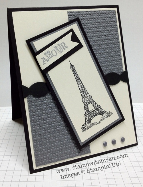 Artistic Etchings, Stampin' Up!, Brian King