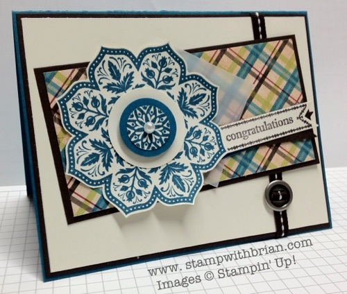Day of Gratitude, Itty Bitty Banners, Stampin' Up!, Brian King
