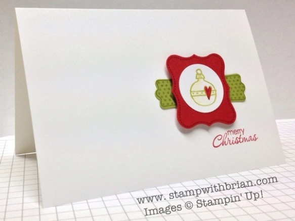 Every Little Bit, A Fitting Occasion, Stampin' Up!, Brian King