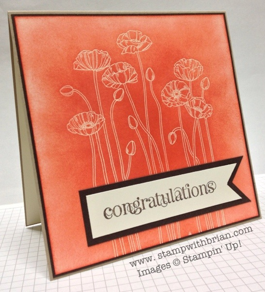 Curly Cute, Pleasant Poppies, Stampin' Up!, Brian King
