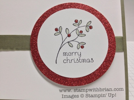 www.stampwithbrian.com - Christmas card closeup