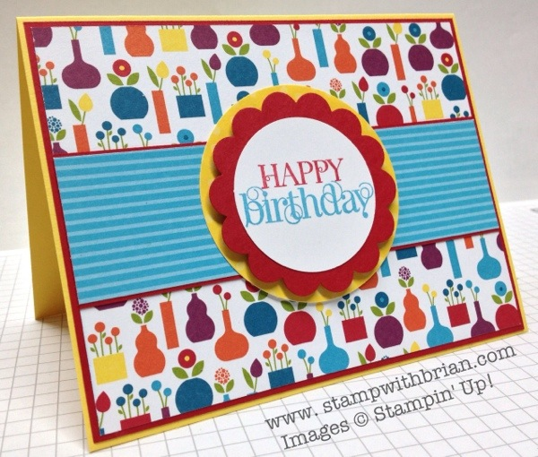Curly Cute, Stampin' Up!, Brian King