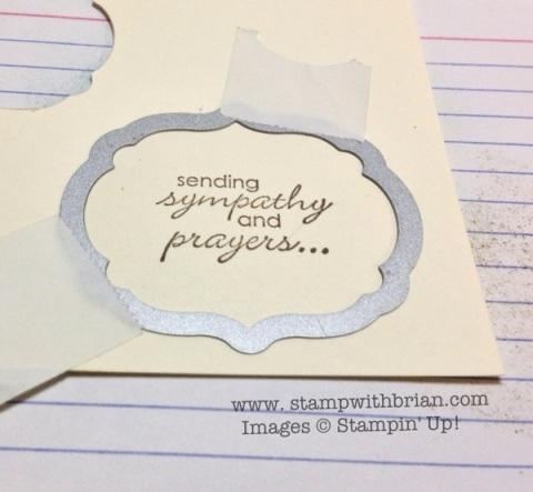 stampwithbrian.com - sponge inside the framelit