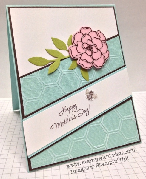 Wonderful Mother, Secret Garden, Stampin' Up!, Brian king