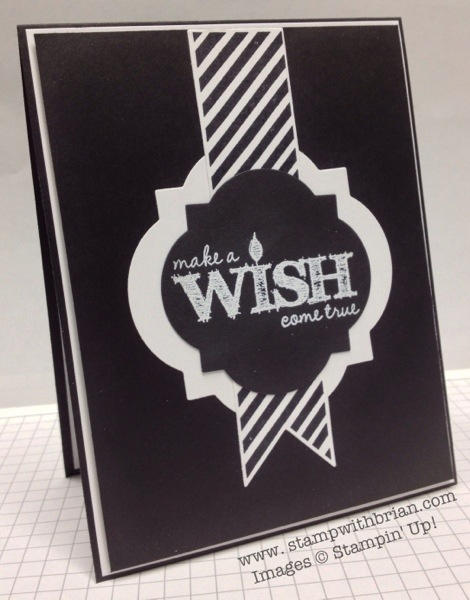 Make a Wish, Hearts a Flutter, Stampin' Up!, Brian King