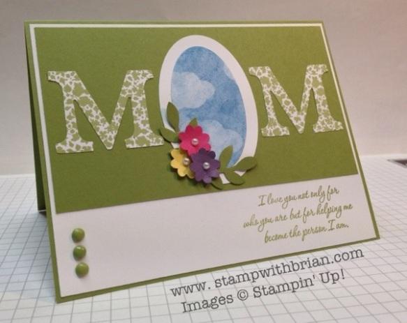 Wonderful Mother, Stampin' Up!, Brian King