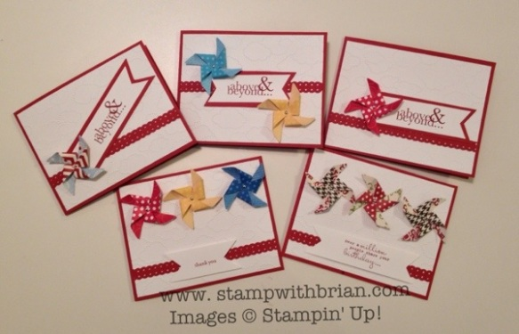 Stampin' Up!, Brian King, Leishman Williams
