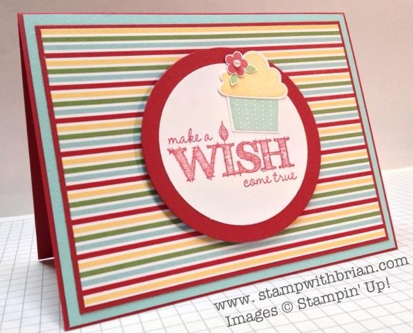 Make a Wish, Create a Cupcake, Stampin' Up!, Brian King