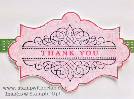 Everything Eleanor, Morning Meadow, Stampin' Up!, Brian King
