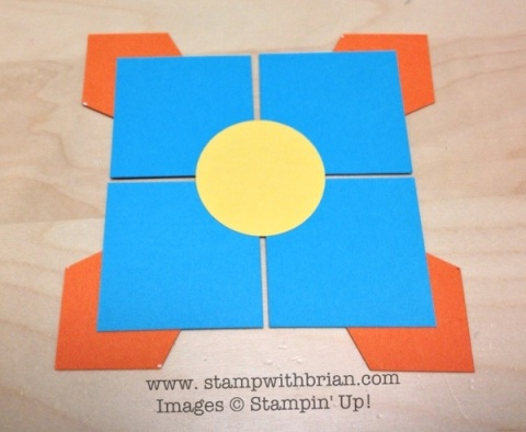 Card Assembly, Stampin' Up!, Brian King