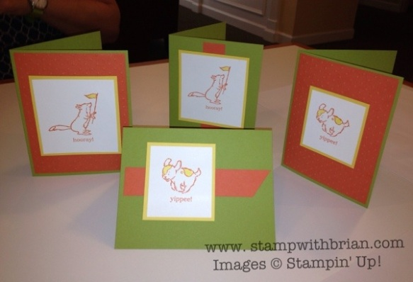 Storybook Friends, Stampin' Up!, Brian King, by Pam Morris