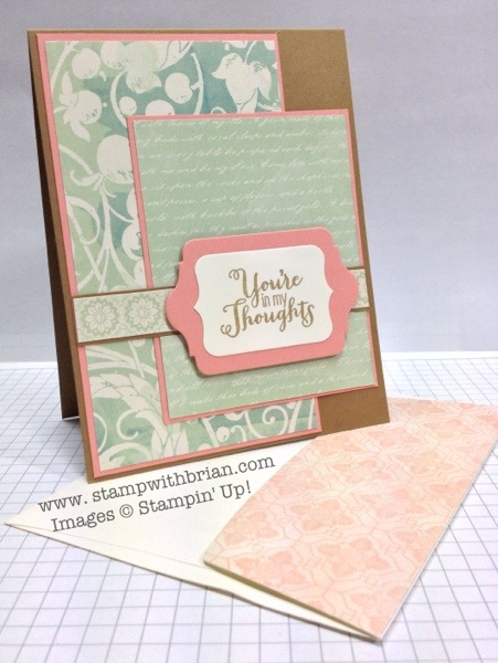 Best of Greetings, Stampin' Up!, Brian King