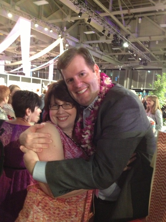 Stampin' Up! Convention, Brian King, Patti Willey