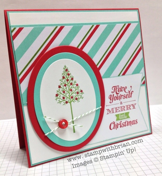 Wamrth & Wonder, Merry Little Christmas, Stampin' Up!, Brian King