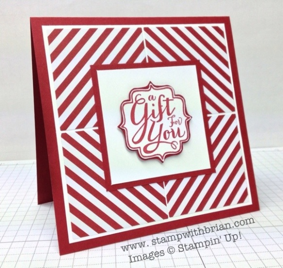 A Gift for You (Single Stamp), Stampin' Up!, Brian King, FMS105
